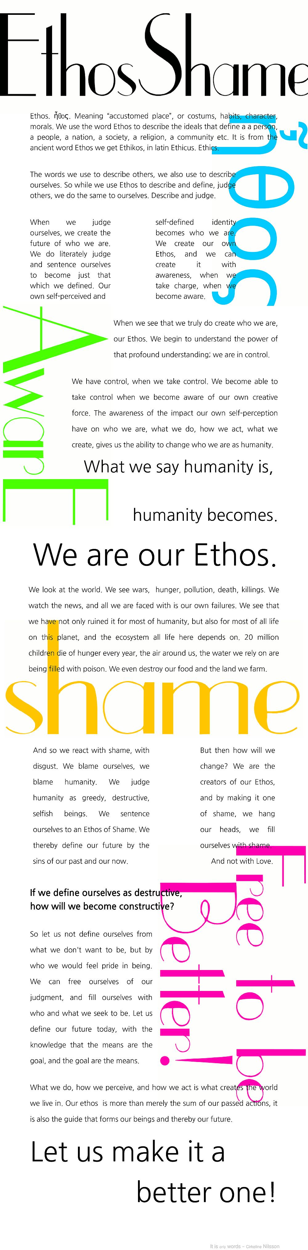 Ethosshame